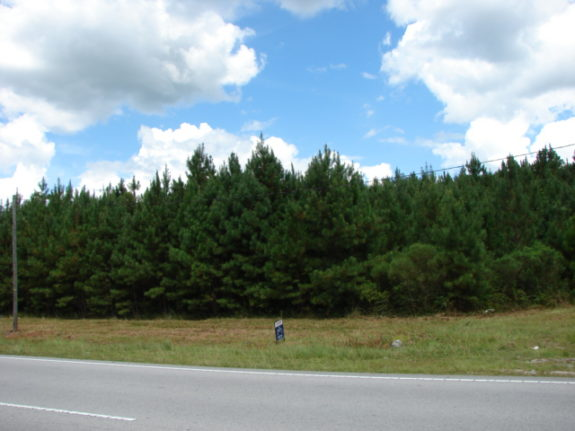commercial lots on Richlands Hwy